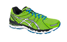 Asics Men's Gel Kayano 19 green/lightning/sapphire